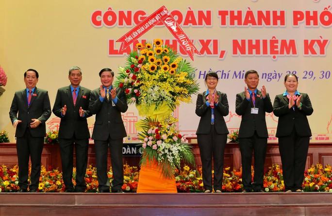 Khai mạc Đại hội XI Công đoàn TP HCM: Bám sát thực tiễn, sâu sát với đời sống CNVC-LĐ - Ảnh 3.
