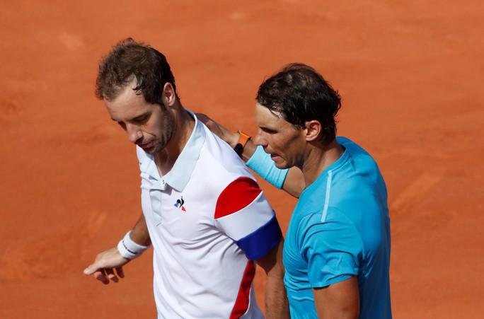 Roland Garros 2018: Nadal đánh bại Gasquet, tiến vào vòng 4 - Ảnh 3.