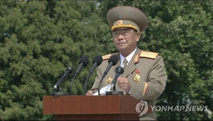 Triều Tiên có bộ trưởng quốc phòng mới - Ảnh 1.