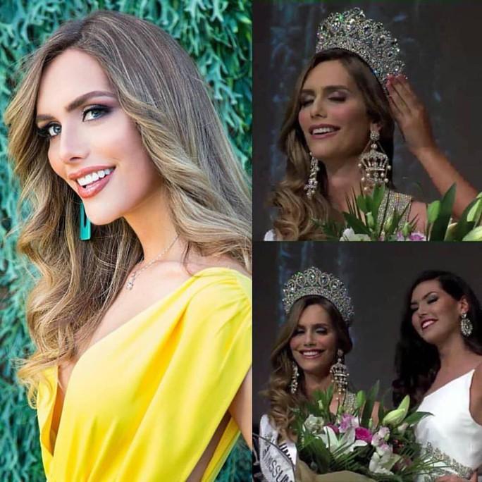Người chuyển giới đầu tiên đăng quang Hoa hậu Hoàn vũ Tây Ban Nha - Ảnh 1.