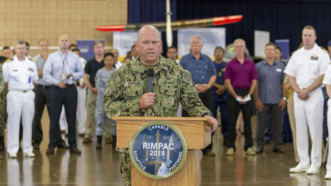 Công nghệ quân sự hiện đại thống trị RIMPAC 2018 - Ảnh 1.
