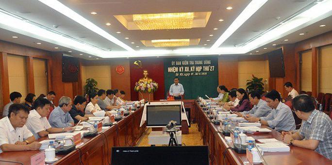 UBKT Trung ương đề nghị kỷ luật  1 thượng tướng và 1 trung tướng - Ảnh 1.