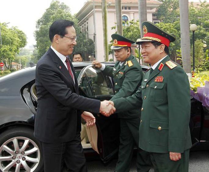 Việt Nam và Hàn Quốc tăng cường hợp tác quốc phòng - Ảnh 1.