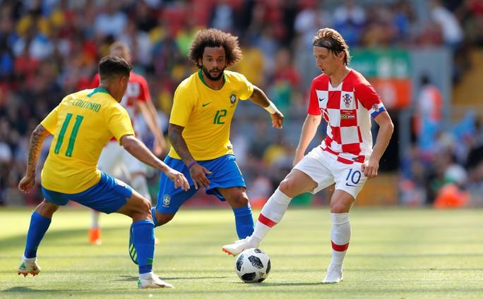 Neymar bùng nổ ngày tái xuất, Brazil thắng thuyết phục Croatia - Ảnh 3.
