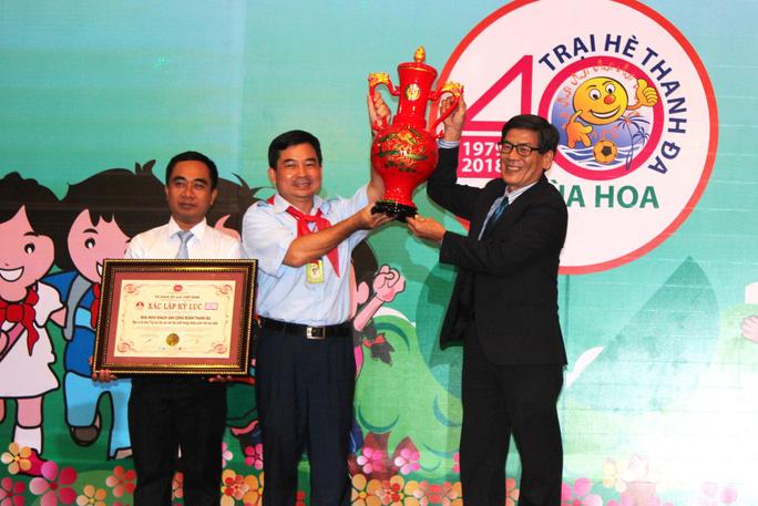 Trại hè Thanh Đa được xác lập kỷ lục Việt Nam - Ảnh 1.