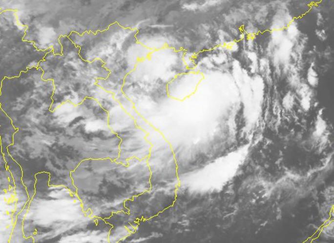 Áp thấp nhiệt đới đã mạnh thành bão số 2, giật cấp 10 - Ảnh 2.