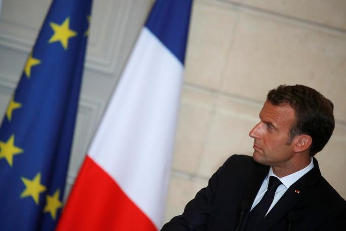 Tổng thống Pháp mập mờ về các cuộc điện đàm với ông Trump - Ảnh 1.