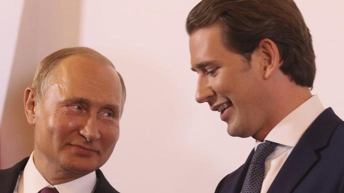Đón tiếp nồng hậu nhưng Áo không ngại từ chối ông Putin - Ảnh 1.