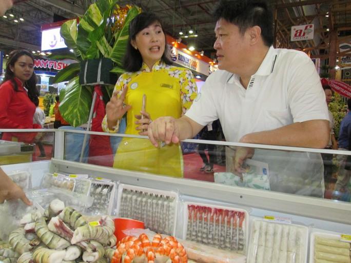 Tìm giải pháp kéo Trung Quốc quay lại mua tôm Việt Nam - Ảnh 1.