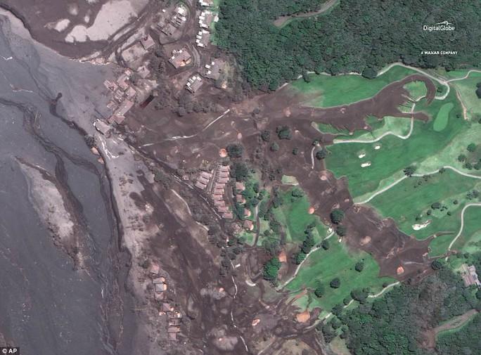 Khốc liệt hình ảnh trước và sau thảm họa núi lửa ở Guatemala - Ảnh 5.