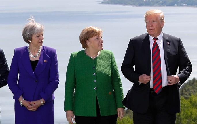 Ông Trump bị cô lập tại  hội nghị G7 - Ảnh 1.