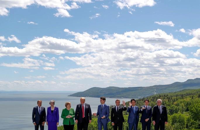 Ông Trump bị cô lập tại  hội nghị G7 - Ảnh 2.