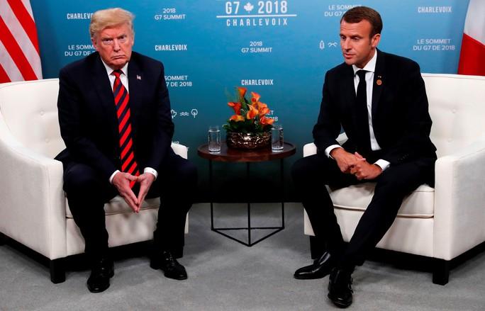 Ông Trump bị cô lập tại  hội nghị G7 - Ảnh 4.