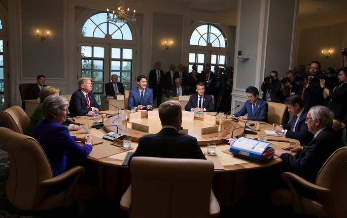 Ông Trump bị cô lập tại  hội nghị G7 - Ảnh 3.