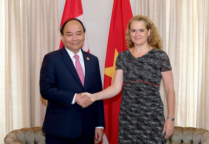 Thủ tướng Nguyễn Xuân Phúc hội kiến Toàn quyền Canada - Ảnh 1.