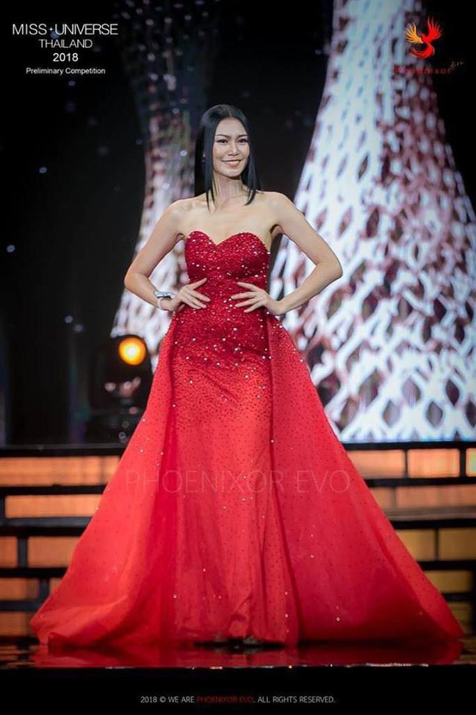 Nhan sắc Tân Hoa hậu Hoàn vũ Thái Lan gây tranh cãi - Ảnh 4.