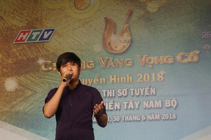 NS Võ Minh Lâm, Hồ Ngọc Trinh ngồi ghế nóng cuộc thi Chuông vàng vọng cổ - Ảnh 4.