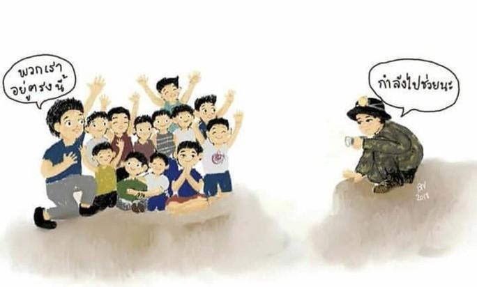 3 mũi giáp công tìm đội bóng mắc kẹt trong hang động Thái Lan - Ảnh 7.