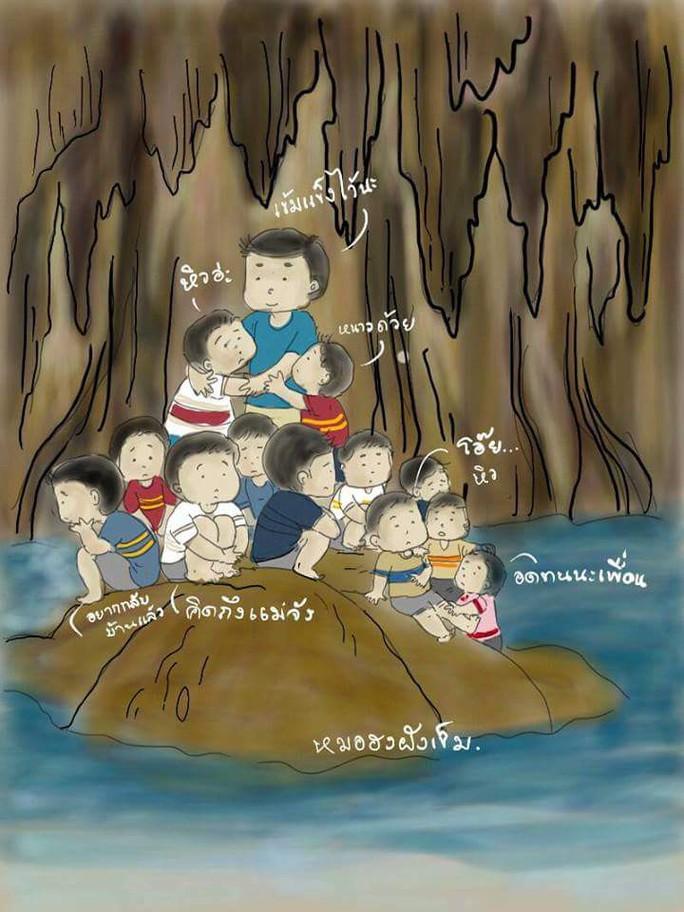 3 mũi giáp công tìm đội bóng mắc kẹt trong hang động Thái Lan - Ảnh 6.