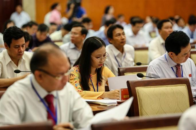Kỳ họp HĐND TP HCM cuối năm: Làm công tác nhân sự và lấy phiếu tín nhiệm - Ảnh 1.