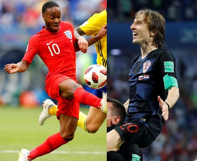 1 giờ ngày 12-7, VTV3: Hấp dẫn trận bán kết Croatia - Anh - Ảnh 1.