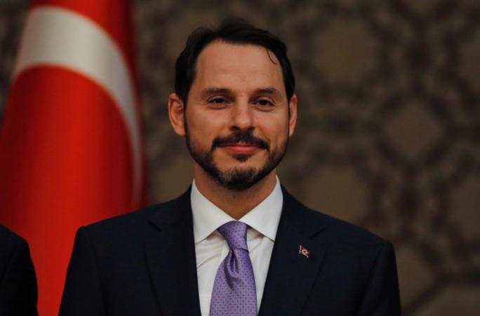 Tổng thống Thổ Nhĩ Kỳ chọn con rể làm bộ trưởng tài chính - Ảnh 1.