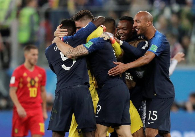 Trung vệ Umtiti lập công, tuyển Pháp vào chung kết - Ảnh 8.