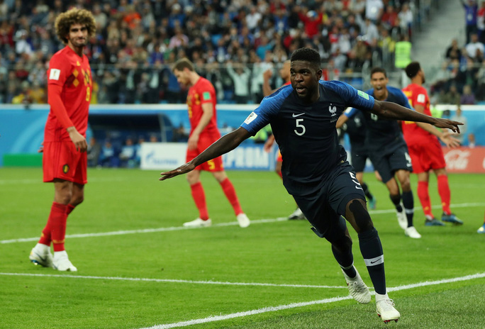 Trung vệ Umtiti lập công, tuyển Pháp vào chung kết - Ảnh 5.