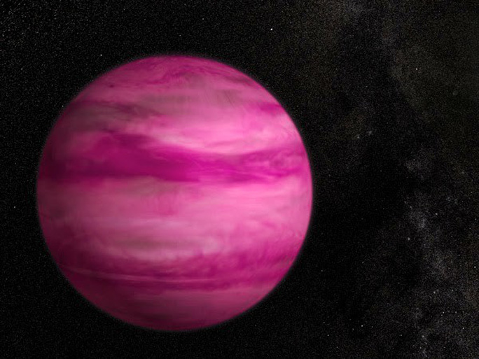 Trái đất từng là hành tinh màu hồng tươi - Ảnh 1.