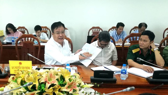 Lãnh đạo tỉnh bác vị trí Công ty Hồ Tràm đã khảo sát làm sân bay - Ảnh 2.