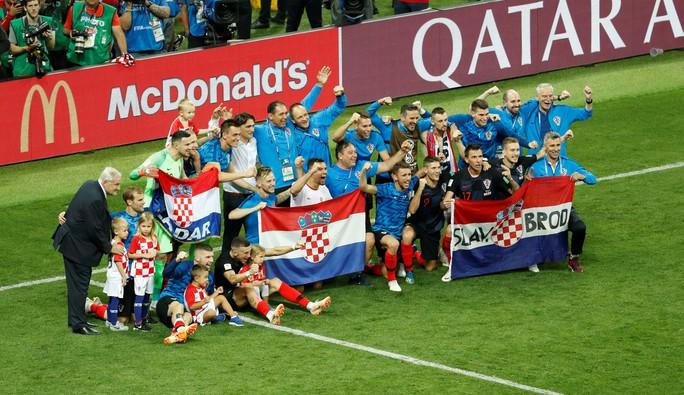 Giấc mơ có thật với Croatia - Ảnh 1.