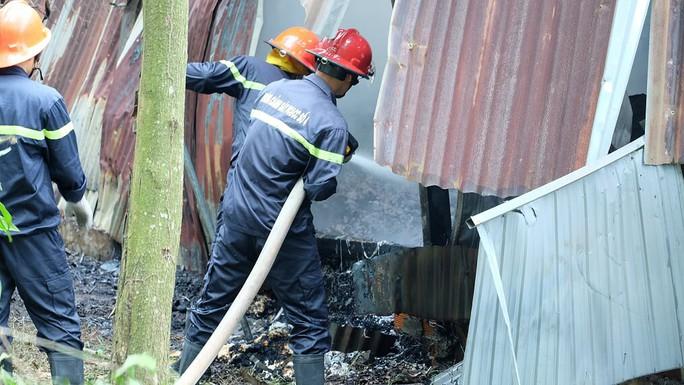 Cháy lớn tại Đồng Nai, khóc với 2 nhà xưởng rộng lớn đổ nát - Ảnh 1.