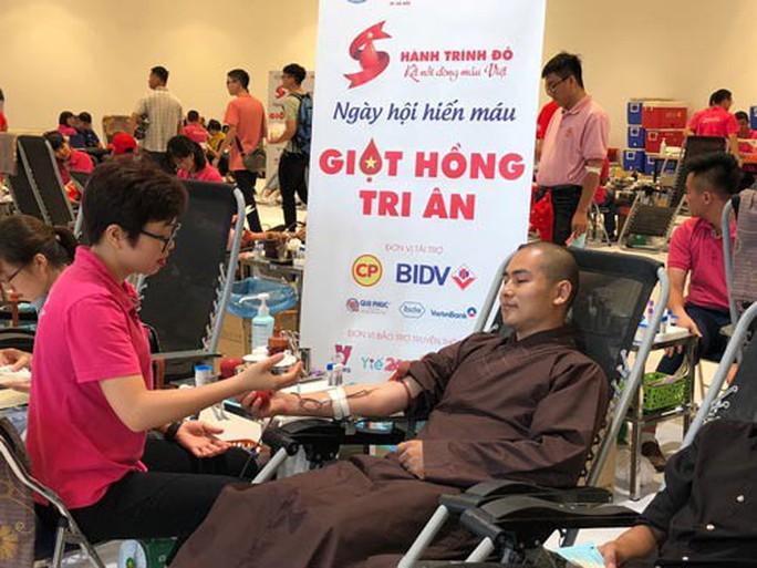 Hành trình hiến máu xuyên Việt tiếp nhận 42.000 đơn vị máu - Ảnh 1.