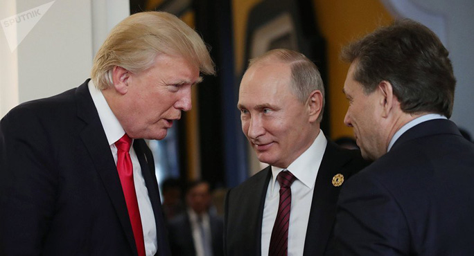 Rò rỉ lịch trình thượng đỉnh của ông Trump và ông Putin - Ảnh 1.