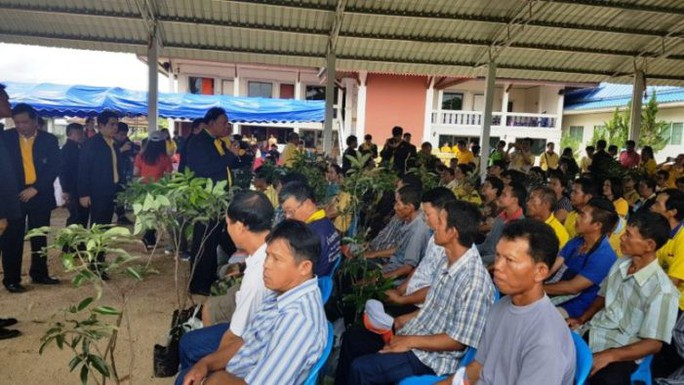 Vụ đội bóng mắc kẹt: Nông dân Thái Lan từ chối nhận đền bù - Ảnh 1.
