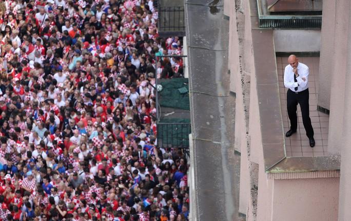 Croatia được chào đón như người hùng tại quê nhà - Ảnh 13.