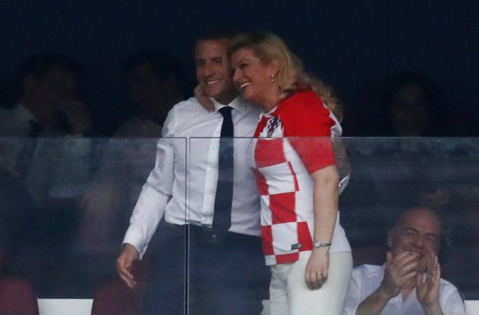 Nữ tổng thống Croatia đốn tim hàng triệu fan trên thế giới - Ảnh 1.