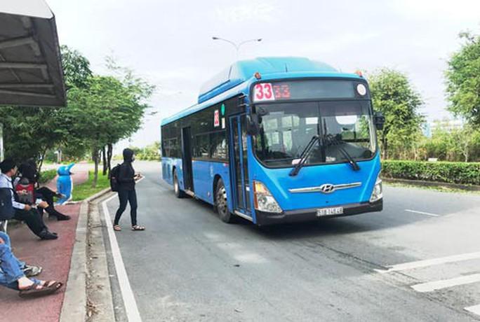 Đầu tư xe buýt nhiên liệu sạch bị tắc - Ảnh 1.