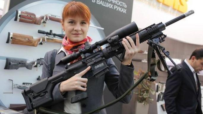 Mỹ bắt người đẹp tóc đỏ Nga bị cáo buộc làm gián điệp - Ảnh 1.