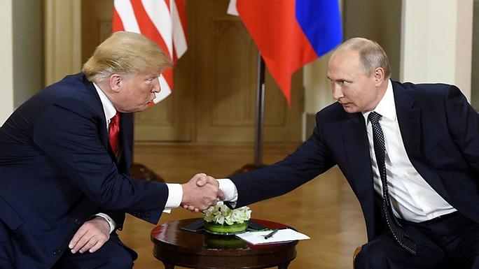Ông Putin khen ngợi ông Trump - Ảnh 3.