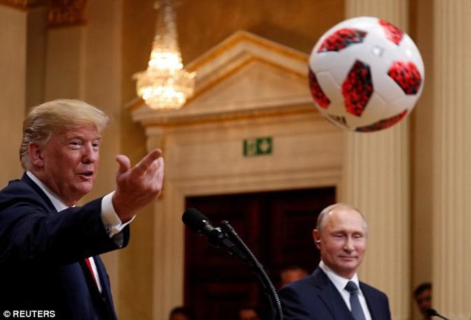 Ông Putin khen ngợi ông Trump - Ảnh 2.