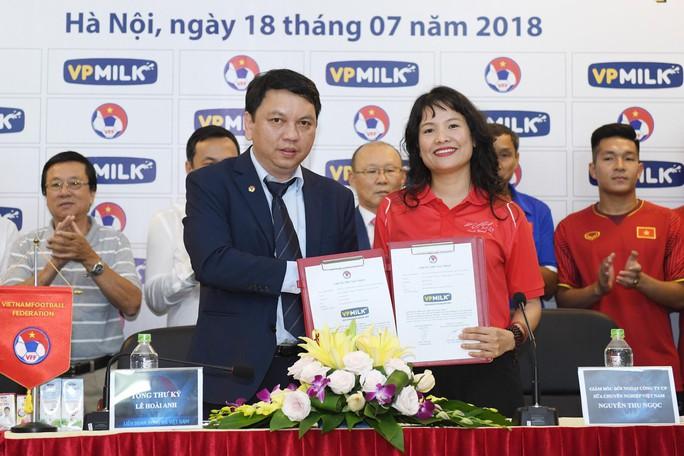 VPMilk tiếp tục đồng hành cùng thầy trò Park Hang Seo - Ảnh 1.