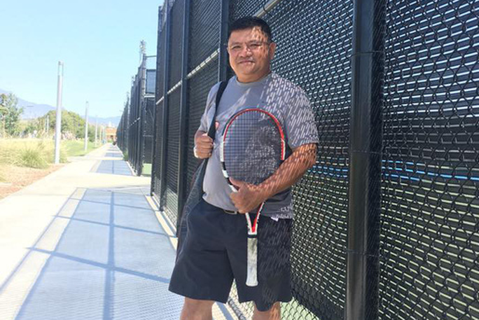 Tiến sĩ quần vợt Trần Trọng Anh Tú nói gì về đề tài ứng dụng? - Ảnh 1.