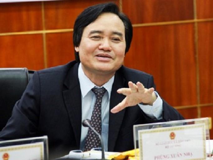 Bộ trưởng Phùng Xuân Nhạ: Không để lợi dụng sai phạm kỳ thi gây tâm lý hoang mang - Ảnh 1.