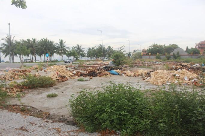 Ô nhiễm dưới chân bán đảo Sơn Trà - Ảnh 1.