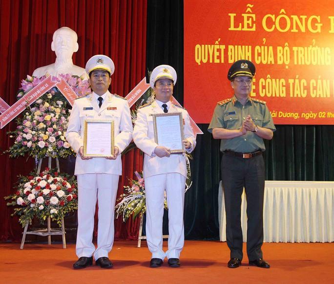 Phó giám đốc Công an Hải Phòng làm giám đốc Công an Hải Dương - Ảnh 1.
