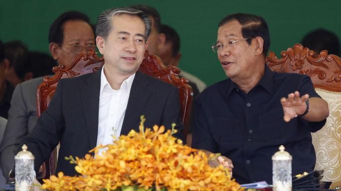 Trung Quốc cho Campuchia vay hàng trăm triệu USD làm đường - Ảnh 1.