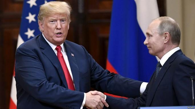 Chưa hết tranh cãi, Tổng thống Trump mời ông Putin đến Mỹ - Ảnh 1.