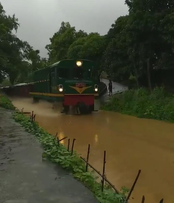 Sửng sốt ngỡ đoàn tàu hỏa lao vun vút trên sông - Ảnh 3.