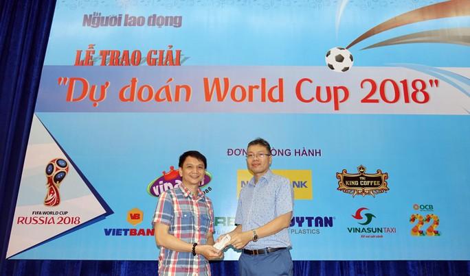 Hào hứng với lễ trao giải dự đoán World Cup 2018 của Báo Người Lao Động - Ảnh 14.
